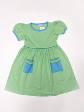 Load image into Gallery viewer, Short Sleeve Popover Dress with Pockets - Posh Tots Children's Boutique