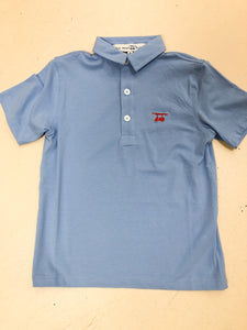 Ace Polo - Solid Blue
