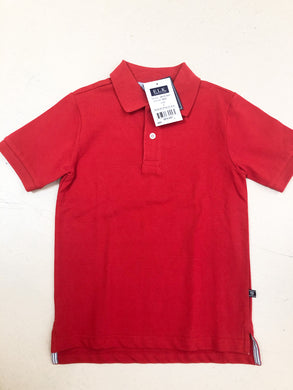 Solid Red Polo