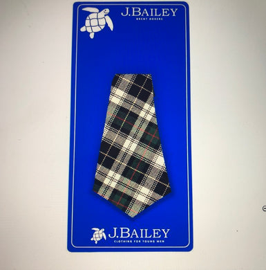 Bailey Tie - Hunter Plaid - Posh Tots Children's Boutique