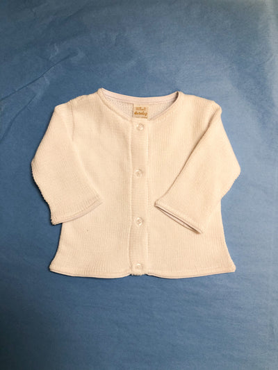 Newborn White Sweater - Posh Tots Children's Boutique