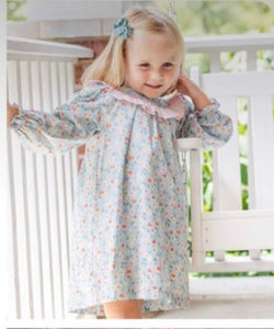 Poppy Floral Dress - Posh Tots Children's Boutique