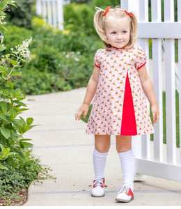 Rosie Reindeer Dress - Posh Tots Children's Boutique