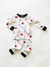 Load image into Gallery viewer, Georgia Football Organic Cotton Pajamas - Posh Tots Children's Boutique