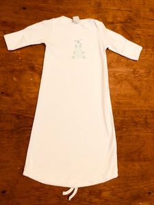 Christmas Daygown - Asst'd Appliques - Posh Tots Children's Boutique