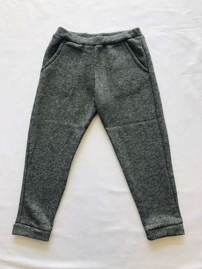 Grey Fleece Joggers - Posh Tots Children's Boutique