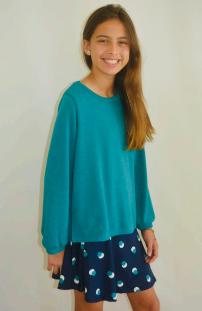 Hadley Sweater Top - Posh Tots Children's Boutique