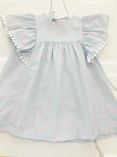 Anna Bradford Dress - Posh Tots Children's Boutique