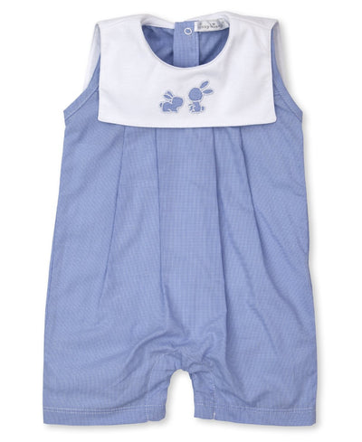Pique Bunny Fam Sleeveless Playsuit - Posh Tots Children's Boutique
