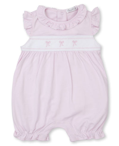 Classic Treasures Playsuit - Bow - Posh Tots Children's Boutique