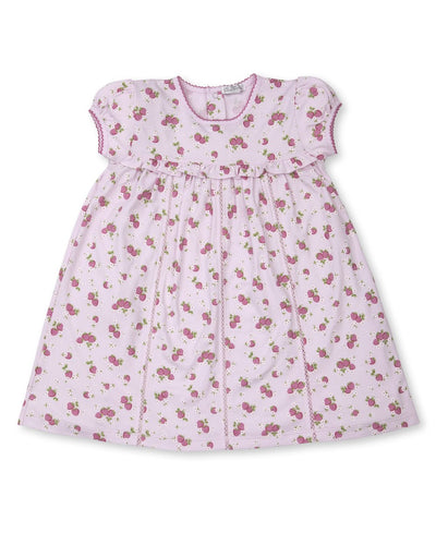 Strawberry Soiree Dress - Posh Tots Children's Boutique
