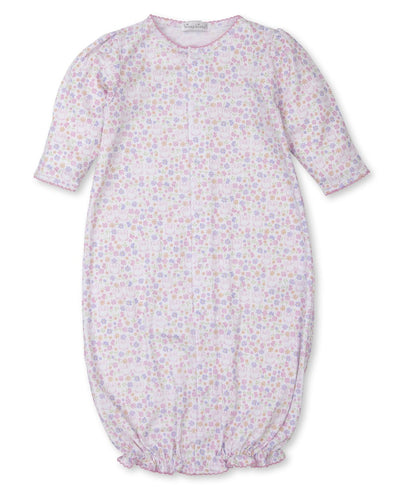 Backyard Bunnies Print Convertible Gown - Posh Tots Children's Boutique