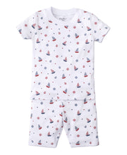 Load image into Gallery viewer, Maritime Short Pajama Set - Posh Tots Children's Boutique