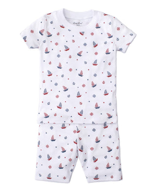 Maritime Short Pajama Set