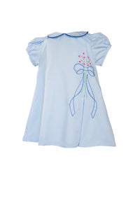 Laurel Bow Dress - Posh Tots Children's Boutique