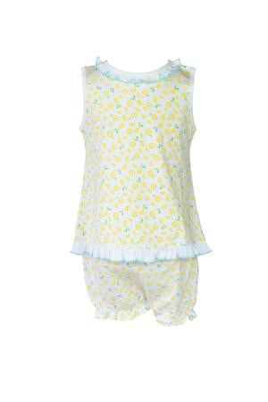Lemons Bloomer Set - Posh Tots Children's Boutique