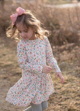 Loren Dress - Posh Tots Children's Boutique
