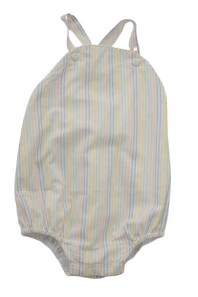 Louie Bubble - Watercolor Stripe - Posh Tots Children's Boutique