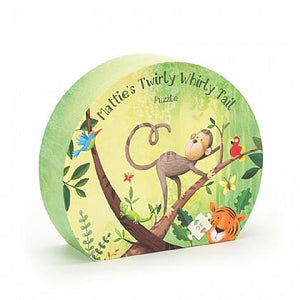 Marrie's Twirly Whirly Tail Puzzle - Posh Tots Children's Boutique