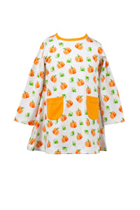 Parker Pumpkin A-Line Dress