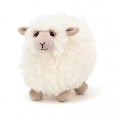 Rolbie Cream Sheep, Small - Posh Tots Children's Boutique