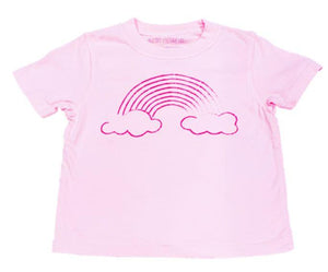 T-Shirt, S/S Rainbow - Posh Tots Children's Boutique