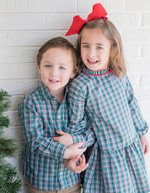 Ryan Dress Shirt - Posh Tots Children's Boutique
