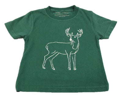T-Shirt, S/S Buck - Posh Tots Children's Boutique