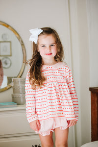 Sally Scalloped Bloomer Set - Posh Tots Children's Boutique