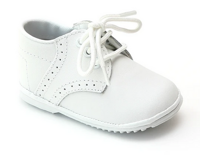 Angel Baby Lace Up Oxfords - Posh Tots Children's Boutique