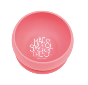Bowl, Say Mac & Cheese - Posh Tots Children's Boutique