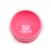 Load image into Gallery viewer, Bowl, Hello Food I Love You - Posh Tots Children's Boutique