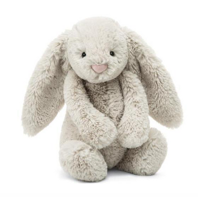 Medium Bashful Oatmeal Bunny - Posh Tots Children's Boutique