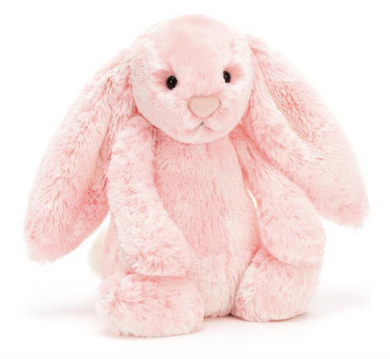 Medium Bashful Peony Bunny - Posh Tots Children's Boutique
