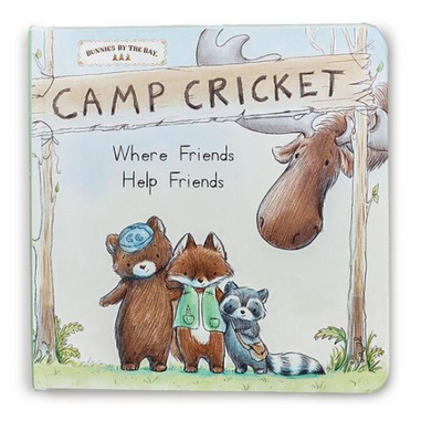 Camp Cricket Book - Posh Tots Children's Boutique