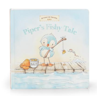 Pipers Fishy Tale Book - Posh Tots Children's Boutique
