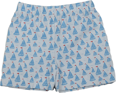 PRE ORDER Stewart Short - Anchors Aweigh - Posh Tots Children's Boutique