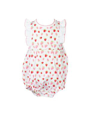 Strawberries Bubble - Posh Tots Children's Boutique