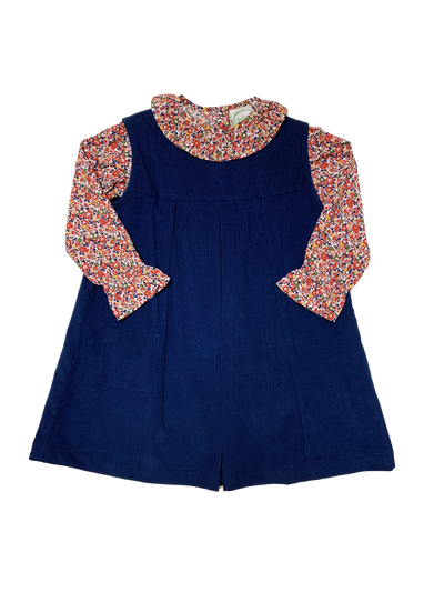 Suzanna Floral Jumper Set - Posh Tots Children's Boutique