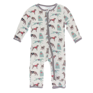 Natural Canine First Responder Coverall - Posh Tots Children's Boutique