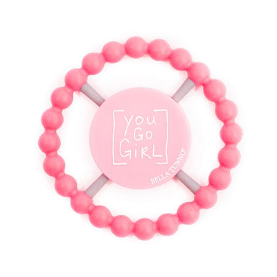 Teether, You Go Girl - Posh Tots Children's Boutique