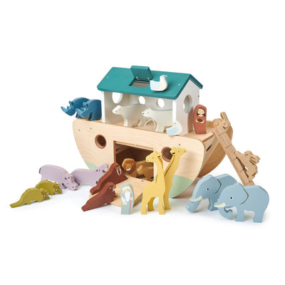 Noah's Wooden Ark - Posh Tots Children's Boutique