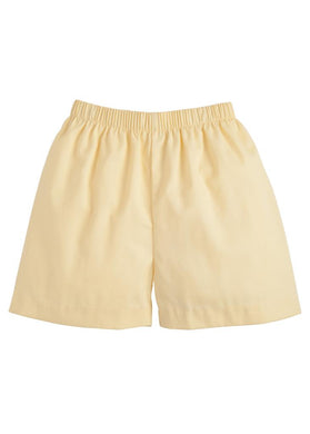 Basic Short - Lemon - Posh Tots Children's Boutique