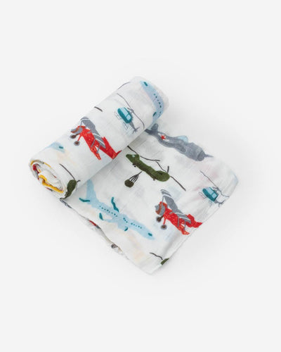 Deluxe Muslin Swaddle Blanket - Posh Tots Children's Boutique