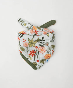 Cotton Muslin Reversible Bandana Bib - Posh Tots Children's Boutique