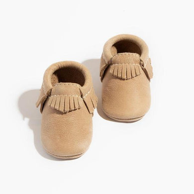 Weathered Brown Moccasins - Posh Tots Children's Boutique