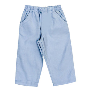 Light Blue Corduroy Pants - Posh Tots Children's Boutique