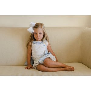 Arraial Sleeveless Polo - Posh Tots Children's Boutique