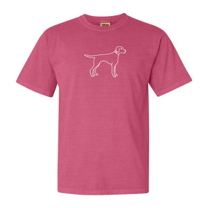 Bird Dog Pink T-Shirt - Posh Tots Children's Boutique