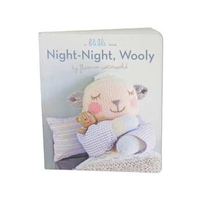 Night Night Wooly Book - Posh Tots Children's Boutique